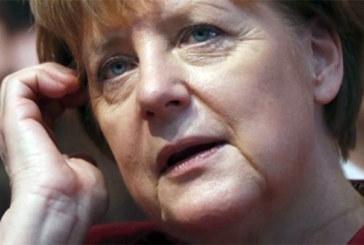 Angela Merkel est arrivée à Dakar