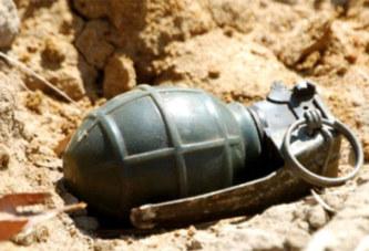 Bam: un paysan se blesse avec une «grenade perdue»