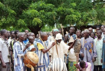 MANEGA – Intronisation d'un Tengsoba ou Chef de terre:Quand la mort côtoie la vie