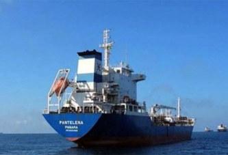 Gabon: Un pétrolier avec 17 marins géorgiens à bord porté disparu