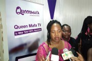 Média: Queen Mafa lance sa WebTV