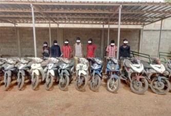 Ouagadougou: sept présumés malfrats de deux groupes interpellés