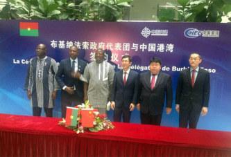 Autoroute, insécurité: le Burkina cherche des solutions à Beijing