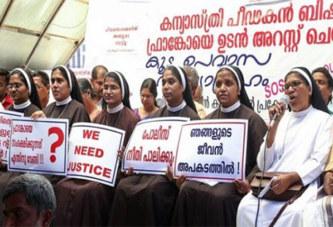 Inde : Des religieuses exigent l'arrestation d'un évêque