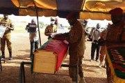 Burkina : les 8 militaires tués à Baraboulé inhumés à Ouahigouya