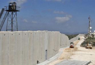 Moyen-orient:Israël construit un mur à la frontière libanaise