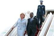 POLITIQUE Côte d'Ivoire/ Le Président Ouattara de retour à Abidjan après un séjour d'une semaine en Chine
