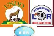 Situation nationale: Les Républicains, le RSR et l'UNDD proposent un protocole d'accord politique