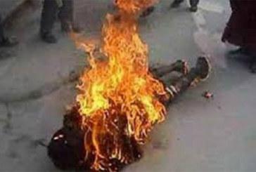 Cameroun-douala : un jeune homme brûlé vif