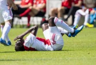 Hassane Bandé en veut toujours à Mohamed Dauda D'Anderlecht qui l'a gravement blessé lors d'un match amical.