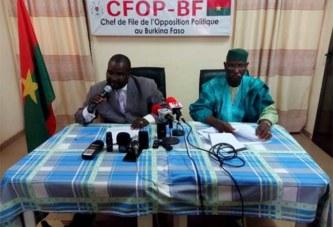 Attaques armées au Burkina: l'opposition regrette «l'appel au maintien des ministres incompétents»