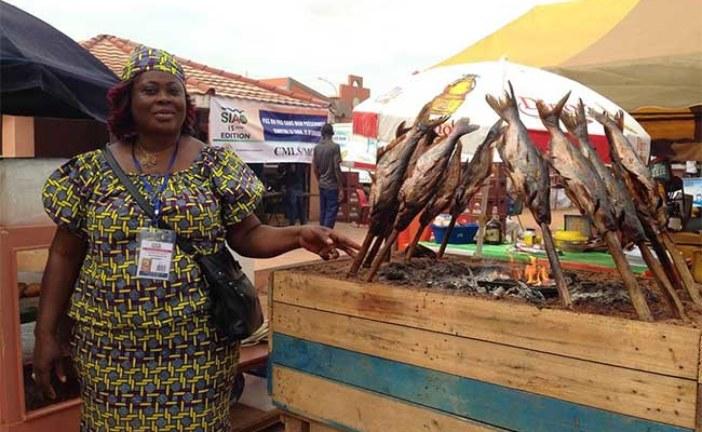 SIAO: Le ''poisson piqué'' de la Côte d'Ivoire fait sensation