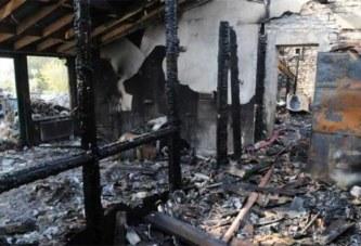 Côte d'Ivoire : Une famille périt dans un incendie à Bouaké, sept morts