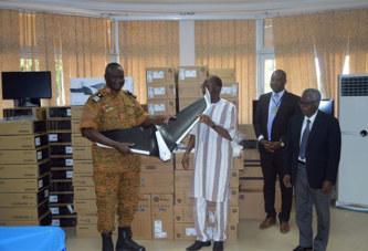 Burkina Faso: Cent cinq ordinateurs et un drone pour la Gendarmerie Nationale