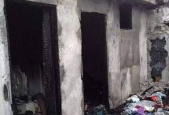 Côte d'Ivoire : Une famille périt dans un incendie à Yopougon Toit rouge, 8 morts
