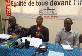 Taxe de résidence : Retenue de 4000 à 5000 F CFA sur le salaire des agents du public et du privé : le SNAID consterné