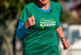 Ginette, 85 ans, a bouclé dimanche son 16e marathon de New York