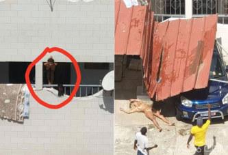 Vidéo – Côte d'Ivoire: Marcory, sous l'effet de la drogue, deux marocaines à poil se jettent d'un balcon