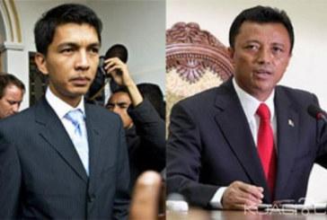 Présidentielle à Madagascar : Rajoelina et Ravalomanana au coude à coude