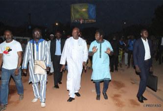 Recréatrales : le président du Faso soutient le promoteur et les artistes