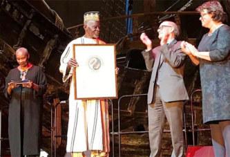 Environnement: le Burkinabè Yacouba Sawadogo reçoit son Prix Nobel Alternatif