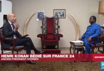 Henri Konan Bédié sur France 24: «je regretted'avoir été »généreux» avec Alassane Ouattara ?»