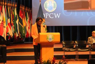 23è Conférence des Etats parties et 4è Conférence d'examen de la Convention sur l'interdiction des armes chimiques:Le Burkina Faso veut un Centre de compétence pour l'assistance et la protection sur les armes chimiques