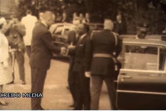 Le saviez vous? Maurice Yaméogo a été le 1er président africain à être reçu officiellement aux USA (Vidéo)