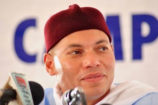 Sénégal – Présidentielles : Karim Wade a reçu son récépissé !