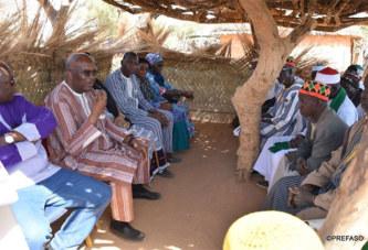 Affrontements inter communautaires à Yirgou, le président du Faso appelle au calme sur les lieux des événements