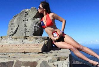 Taïwan : la «randonneuse en bikini» meurt en chutant dans un ravin