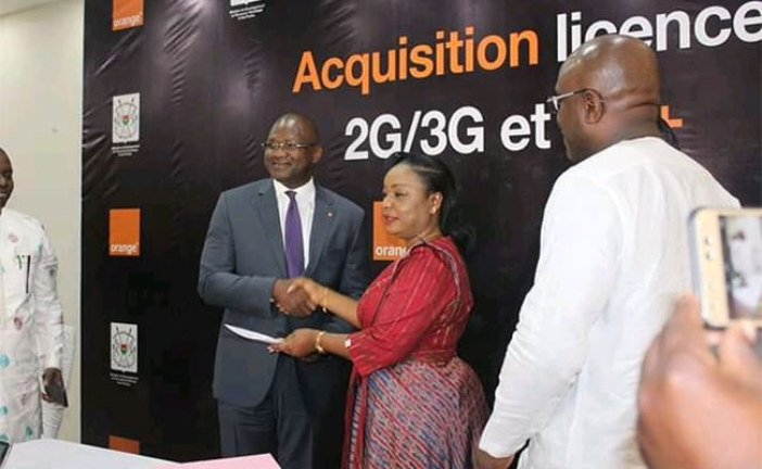 Acquisition de la 4G : Orange verse au Burkina Faso une avance de 40 milliards de FCFA