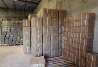 Burkina: un établissement pharmaceutique illégal épinglé, plus de 40 tonnes de produits saisis