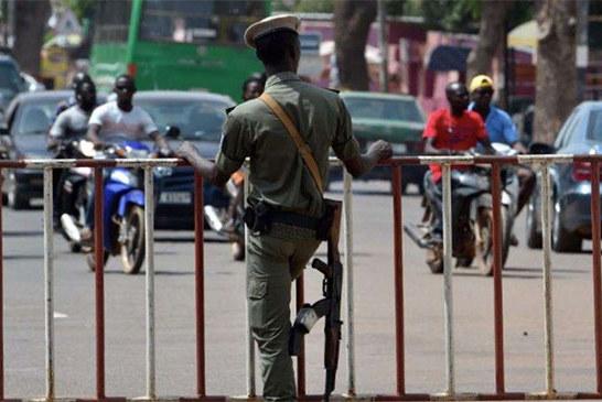 Burkina Faso: Les policiers en arrêt de travail de 72 heures