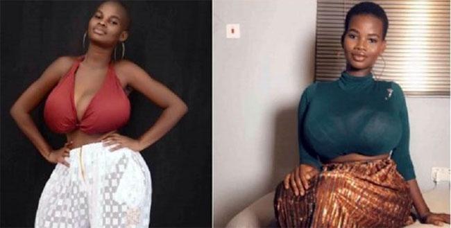 Pamela Watara: La fille aux seins les plus gros du Ghana-Photos