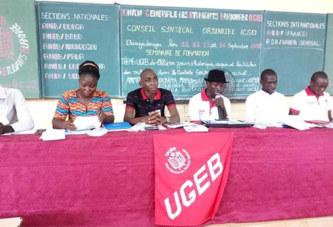 Ugeb: «Le pouvoir en place se moque éperdument de l'éducation des enfants du peuple»