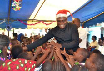 Côte d'Ivoire/Humanitaire : La FRACIM illumine la Noël des enfants malades du SIDA