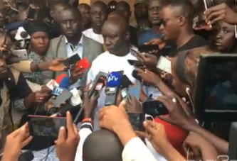 Sénégal : Présidentielle, l'opposition rejette les résultats et ne déposera « aucun recours au conseil constitutionnel »