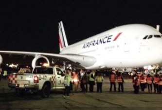 Abidjan : Un avion d'Air France avec 500 passagers perd un moteur en plein vol ce dimanche
