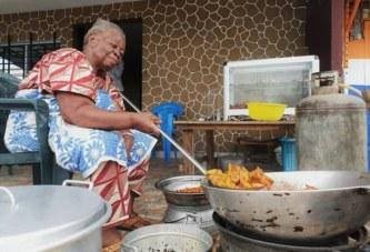 Business/Abidjan: A 80 ANS, Mamie Christine (vendeuse d'Alloco), donne une leçon de courage et d'abnégation à la jeunesse