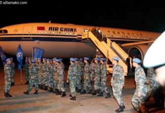 Minusma: la chine envoie un contingent de 395 soldats au Mali