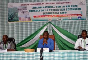 Ministère du commerce: un atelier pour la relance de la filière coton