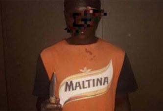 Yopougon: Un ancien ''microbe'' devenu braqueur, laisse des traces sur le corps de ses victimes
