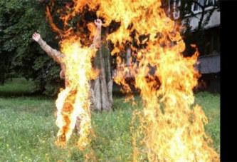 Nigeria: Une femme au foyer brûle son mari à mort