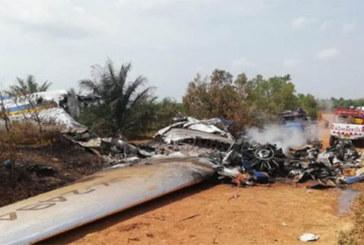 Colombie: 12 morts dans le crash d'un avion de ligne