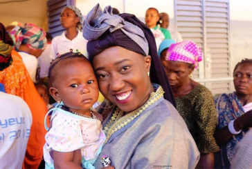 Santé: Malika La Slamazone réhabilite la salle de consultation pédiatrique de l'hôpital Sourou Sanou de Bobo