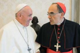 Le pape François refuse la démission du cardinal Barbarin