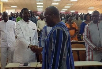 Roch Kaboré et Bala Sakandé: La poignée de main aux milles questions