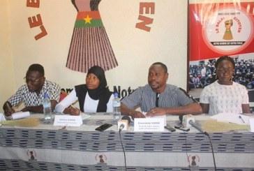 Burkina Faso:Le Balai citoyen dresse un bilan à mi-parcours de sonProjet Alliance Jeunes et Parlementaires