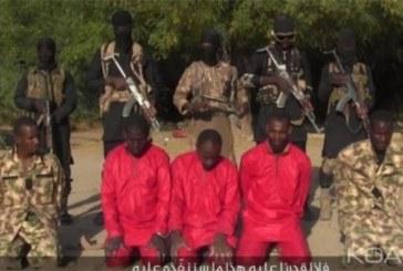 Nigeria : Boko Haram diffuse une vidéo d'exécution d'otages dont des soldats